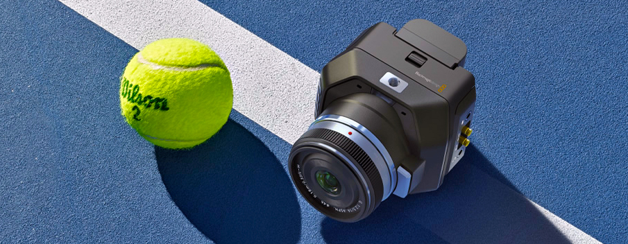 Micro Studio Camera 4K - It's tennis ball sized!